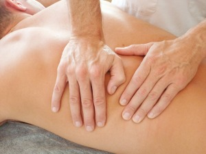Imagen masaje fascial.
