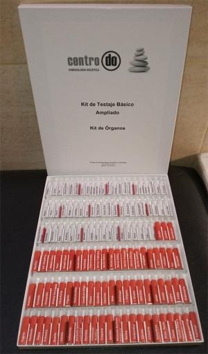 Kit de Testaje Básico ampliado. Kit de örganos